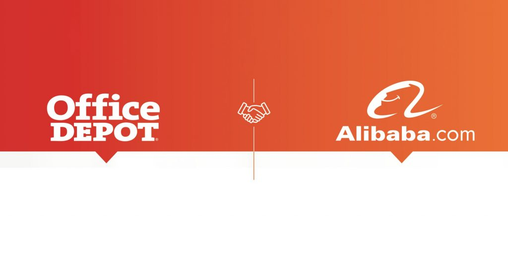 Alibaba and Office Depot partnership