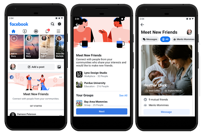 Facebook Meet New Friends