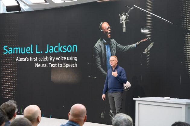 Alexa's first celebrity voice